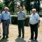 Hr. Dr. Heidinger, Hr. Alinel Narita, Hr. August Griebel